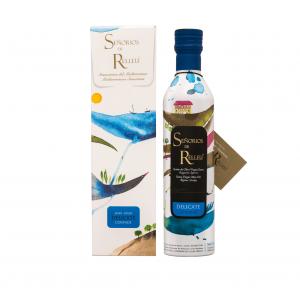 Aceite de Oliva Virgen Extra Delicate Coupage 500 ml con estuche individual para regalo
