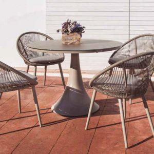 Conjunto sillones Spade y mesa Fano