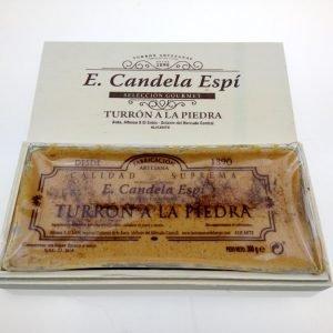 Turrón a la Piedra artesano 300g (Caja de Madera)