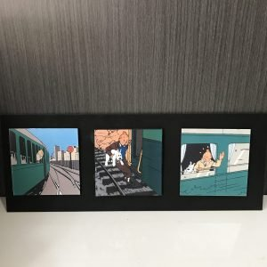 Tríptico de Tintin Fast Train