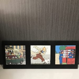 Tríptico de Tintin La Course des courses