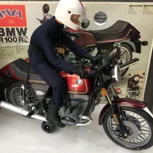 Moto BMW R 100RS de colección de 1980