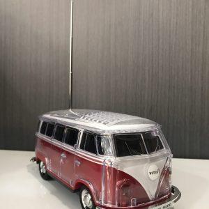 Furgoneta RED Camper multimedia con Altavoz y Bluetooth