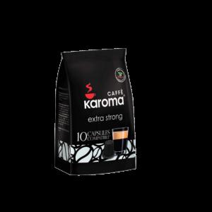 Cápsulas compatibles Nespresso Karoma EXTRA STRONG 10 cápsulas
