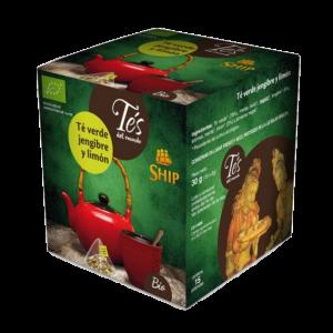 Té Verde con Jengibre y Limón 15 bolsitas