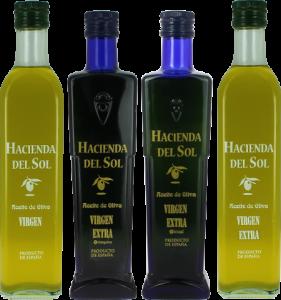 Aceites de Oliva Virgen Extra Arbequina-Picual. Degustación