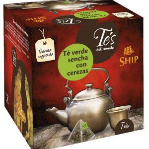 Té Verde con cerezas 15 bolsitas
