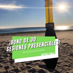 30 sesiones