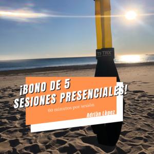 5 sesiones