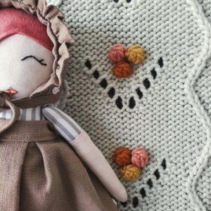 CARLOTI BABY Muñeca de Trapo