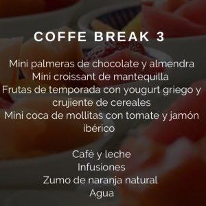 Coffee Break Nº 3 Restaurante El Sorell