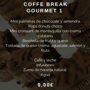 Coffee Break Gourmet Nº 1 Restaurante El Sorell