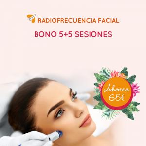 Bono 5+5 Radiofrecuencia Facial