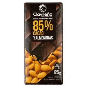 Chocolate Negro 85% Cacao y Almendra