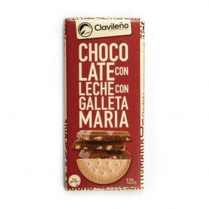 Chocolate con leche con galleta María