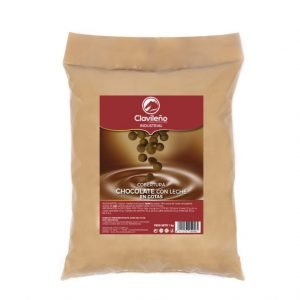Cobertura Chocolate Con Leche 1kg Clavileño