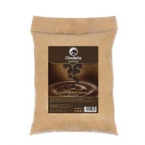 Cobertura Gotas Chocolate Negro 1kg Clavileño