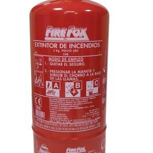 Extintor 2 Kg Homologado de polvo ABC