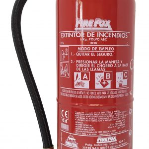 Extintor 6 kg Homologado de polvo ABC
