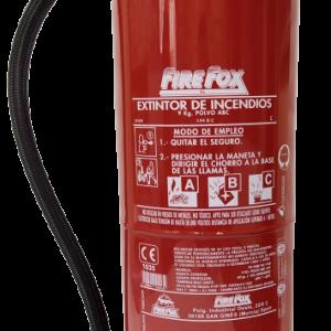 Extintor 9 Kg Homologado de polvo ABC