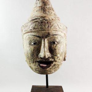 Cabeza de Marioneta Birmana Antigua