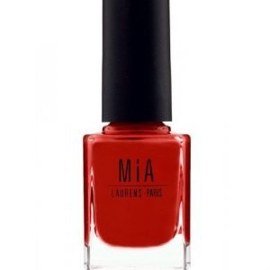 Esmalte de uñas POPPY RED Mia Laurens Paris