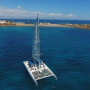 Tabarca a Vela en Catamaran Excursión para ADULTO