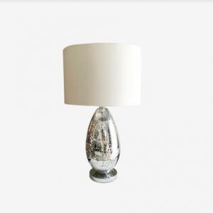 Lámpara de mesa Tulipa en Lino