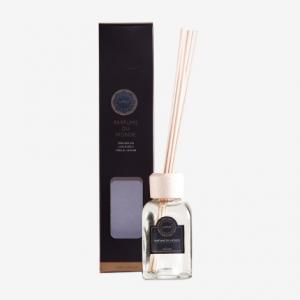 Mikado en frasco de vidrio con fragancia Pachouli