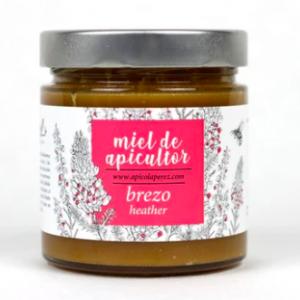 Miel de Brezo Cruda y 100% Natural directa del Apicultor