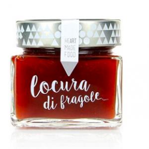 """Mermelada ecológica extra de fresa """"Locura di Fragole"""""""
