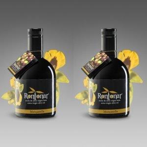 Aceite Monovarietal Mançanella 2 Botellas de 500 ml