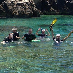 Snorkel y diversión en las Calas de Jávea