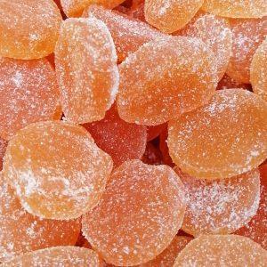 Gominola Naranja natural y vegana 100g