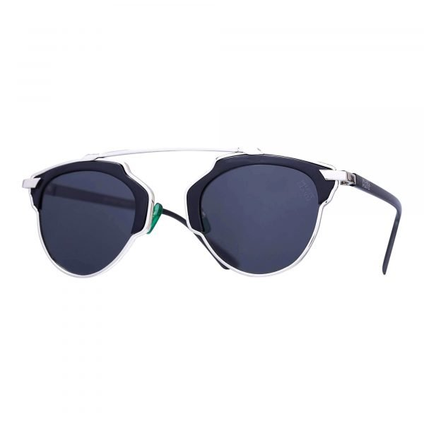 gafas de sol hipster negras