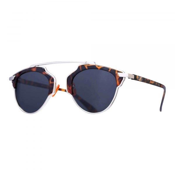 Gafas de sol Hipster marrones