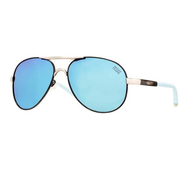 gafas de sol estilo aviador cristal azul