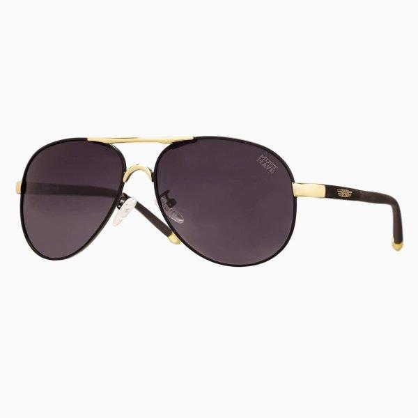 gafas de sol estilo aviador cristales granate