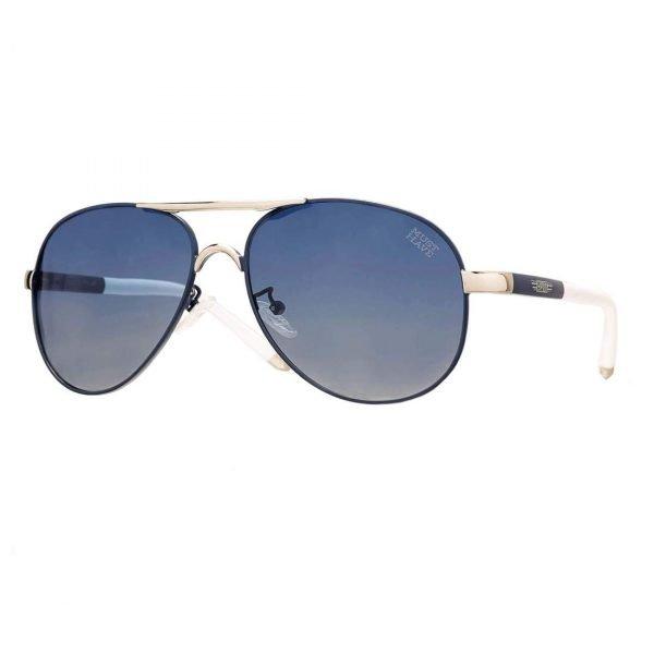 gafas de sol estilo aviador cristales azules