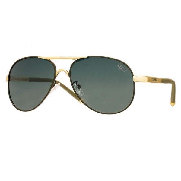 gafas de sol estilo aviador cristales negros