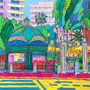 Acrílico Plaza Portal de Elche Alicante by REMBERTO
