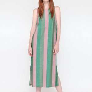 Vestido Pink-Green VILAGALLO
