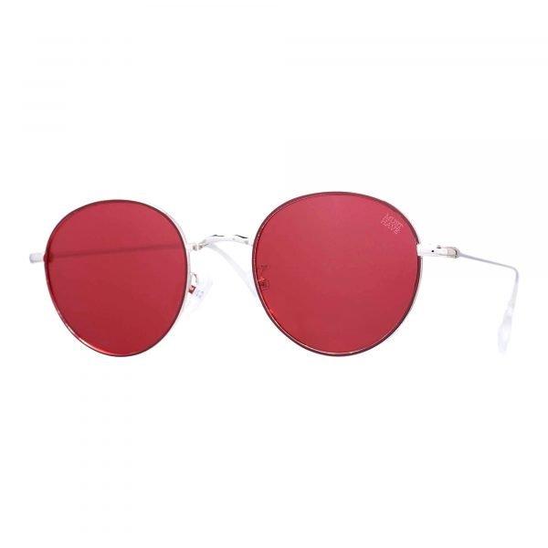 gafas de sol polarizadas rojas