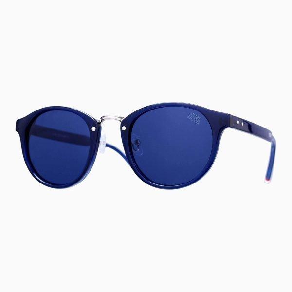 Gafas de pasta sol azules
