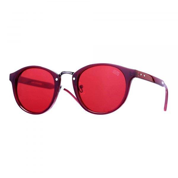 Gafas de pasta sol rojas