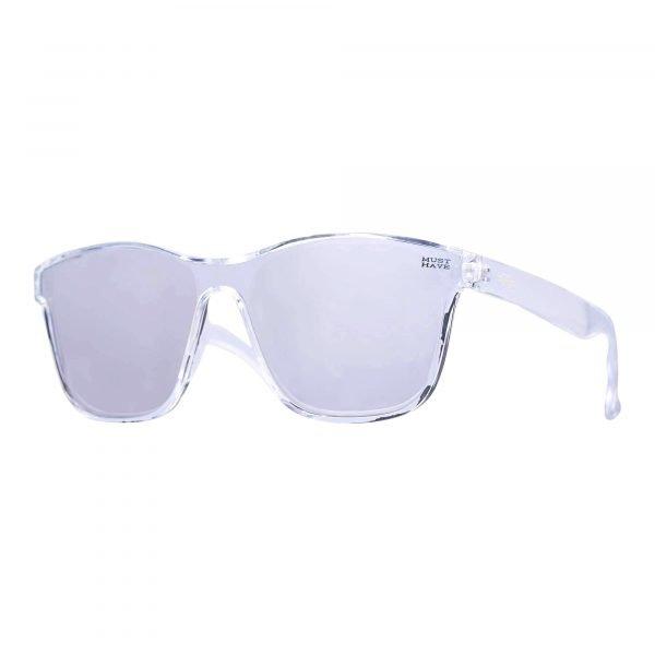 gafas de sol translucidas con patilla gruesa