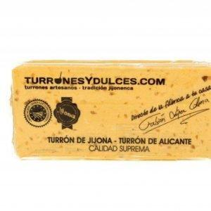 Turrón Jijona Artesano con 70% TurronesyDulces 300g