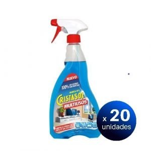 Cristasol limpiador multiusos en spray, 750 ml. pack de 20 unidades