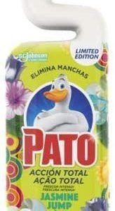 Pato wc power de sc johnson, fragancia jasmine jump, limpiador quitamanchas para inodoro, 750 ml