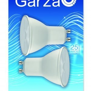 Discontinuada garza lighting, pack de 2 bombillas led reflectoras, gu10, 35 w, 230 lúmenes, 3000k, l
